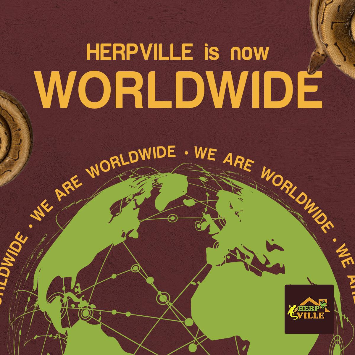 Herpville is now Worldwide