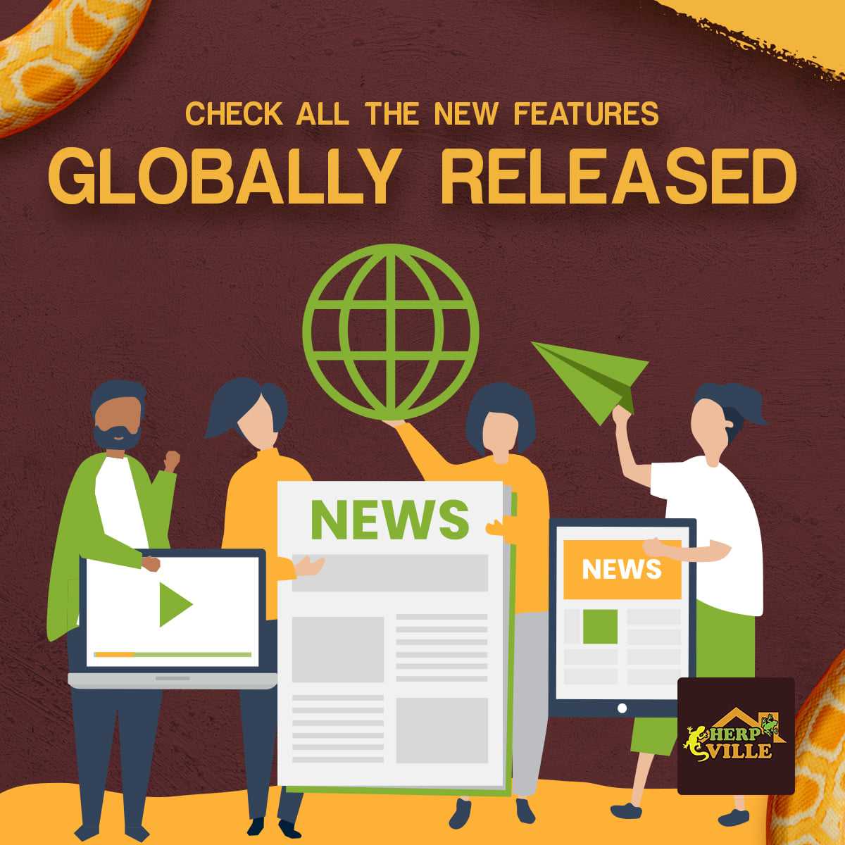 Check all the new features globally released